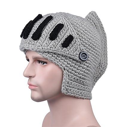 Amazon Zgzy Beard Hat Beanie Knit Pirate Barbarian Warrior