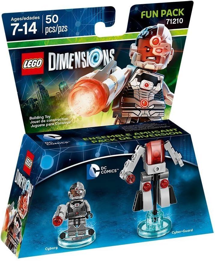 DC Cyborg Fun Pack - LEGO Dimensions by Warner Home Video - Games:  Amazon.es: Juguetes y juegos