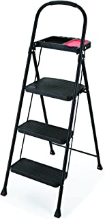 Rubbermaid RMS-3T 3-Step Steel Step Stool with Project Tray  sc 1 st  Amazon.com & Amazon.com: Rubbermaid EZ Step Folding Stool 2-Step White: Home ... islam-shia.org