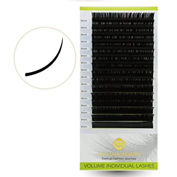 10ddcf67d53 BEYELIAN 0.05mm 3D-9D Russian Volume Lash Extensions Individual Semi  Permanent Eyelash Extensions Mink