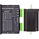 STEPPERONLINE 1 Axis Stepper CNC Kit 3.1Nm(439oz.in) Nema 24 Stepper Motor & Driver