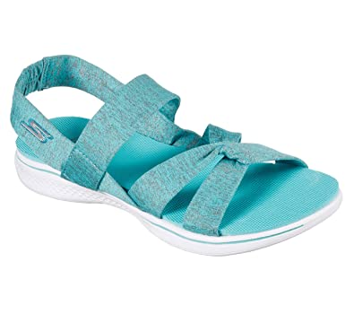 Skechers H2 GOGA Bountiful Womens Strappy Sport Sandals Teal 7   Amazon.co.uk  Shoes   Bags 89bc6625d7