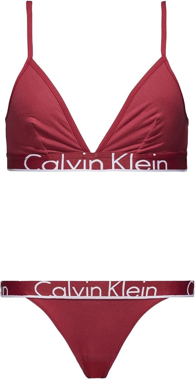 Calvin Klein Damen Underwear Gift (Triangle & Tanga