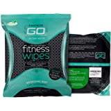 """HyperGo Full Body Wipes, 20-Count (1 Pack) Mint – Cleansing Wipes for Quick Refresh, Large 12"""" x 12"""" Biodegradable Wipes…"""