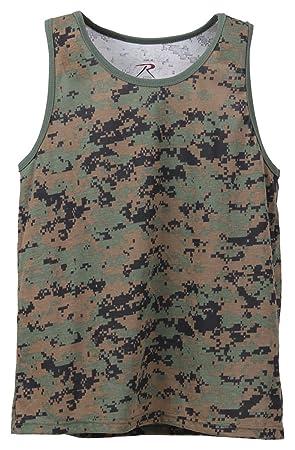 98d54e0b2f1df Rothco Camo Tank Top: Amazon.ca: Sports & Outdoors