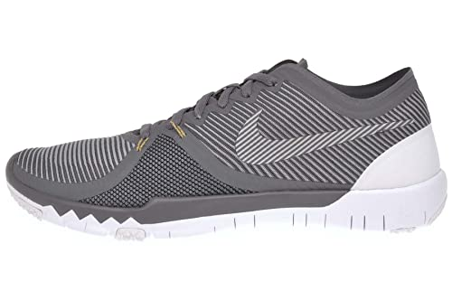 huge selection of 56a07 e930f Nike Mens Free Trainer 3. 0 V4 Training Shoes Dark Grey/Metallic Gold/Black  749361-007 Size 8: Buy Online at Low Prices in India - Amazon.in