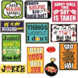 Syga Fun Moment Wedding Party Photo Booth Props (Set of 12)