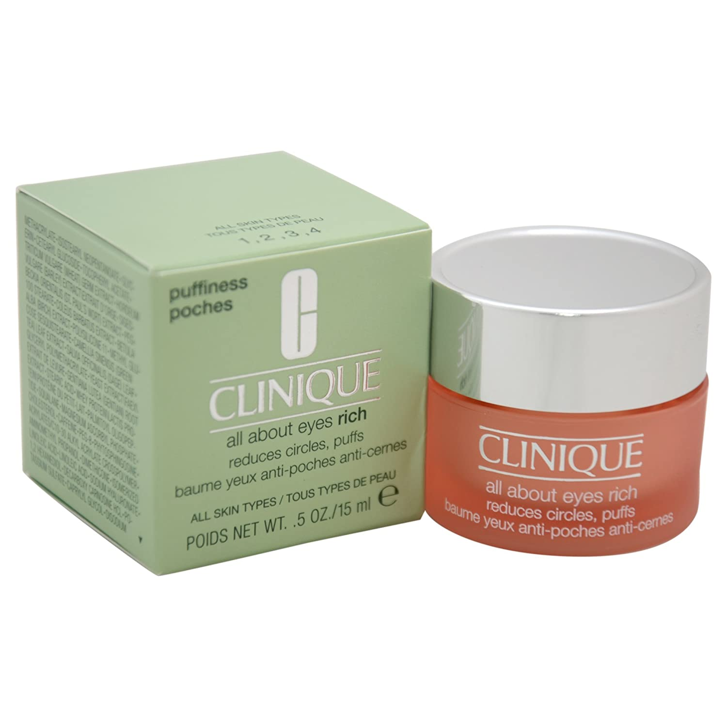 Clinique - All About Eyes Rich - Crema para ojos - 15 ml