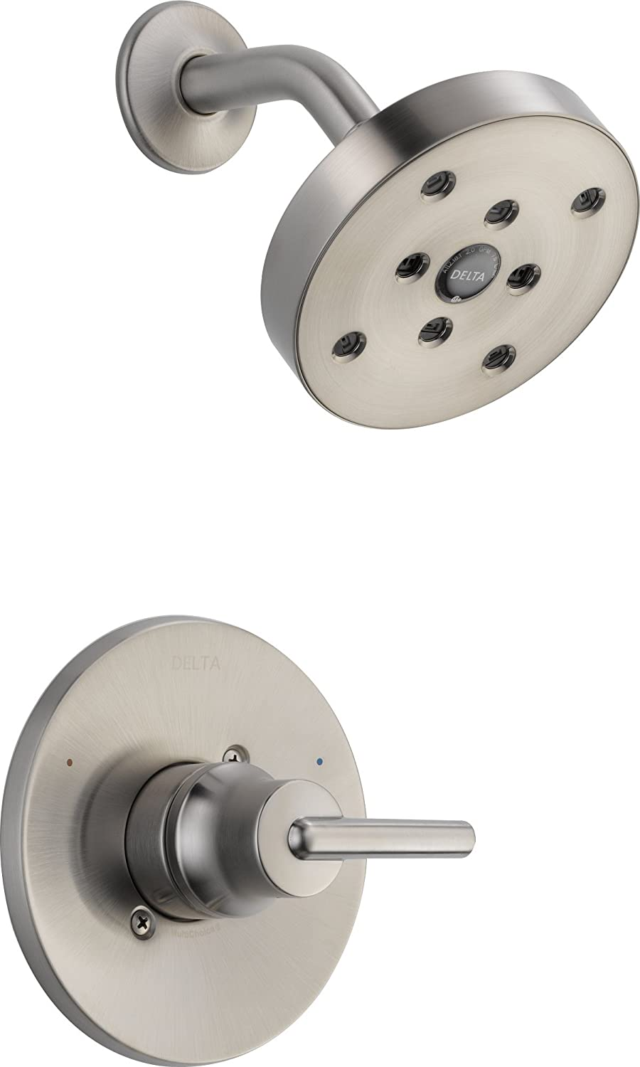Delta T14259-SS Trinsic 14 Series Single-Function Shower Trim Kit ...