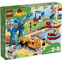 LEGO 乐高  拼插类 玩具  DUPLO 得宝系列 智能货运火车 10875 2-5岁 婴幼
