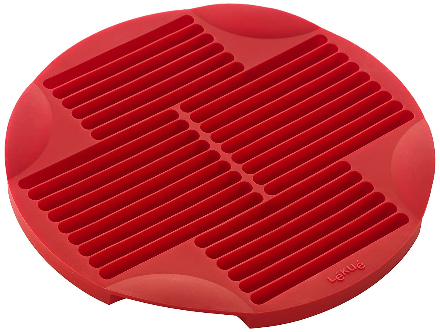 Lekue Sticks Silicone Baking Mold, Model # 0210600R01M017, Red Lekue Cookware
