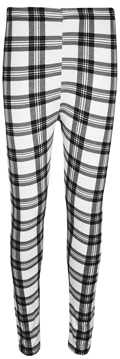 WearAll Womens Plus Size Print Elastic Waist Pants Full Long Leggings 62226