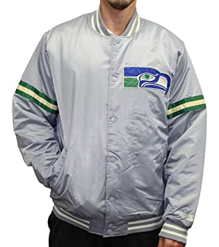 check out ce0a8 6663b Seattle Seahawks NFL Men's Starter Legacy Premium Satin ...