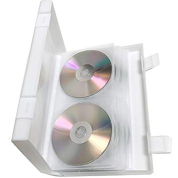 Amazon.com: CD DVD Wallet, 56 Capacidad de CD, de plástico ...