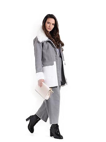 Charcoal Fashion - Abrigo - para mujer