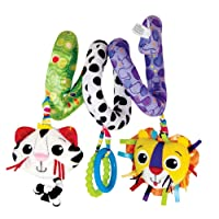 Lamaze Activity Spiral Clip On Pram and Pushchair Baby Toy