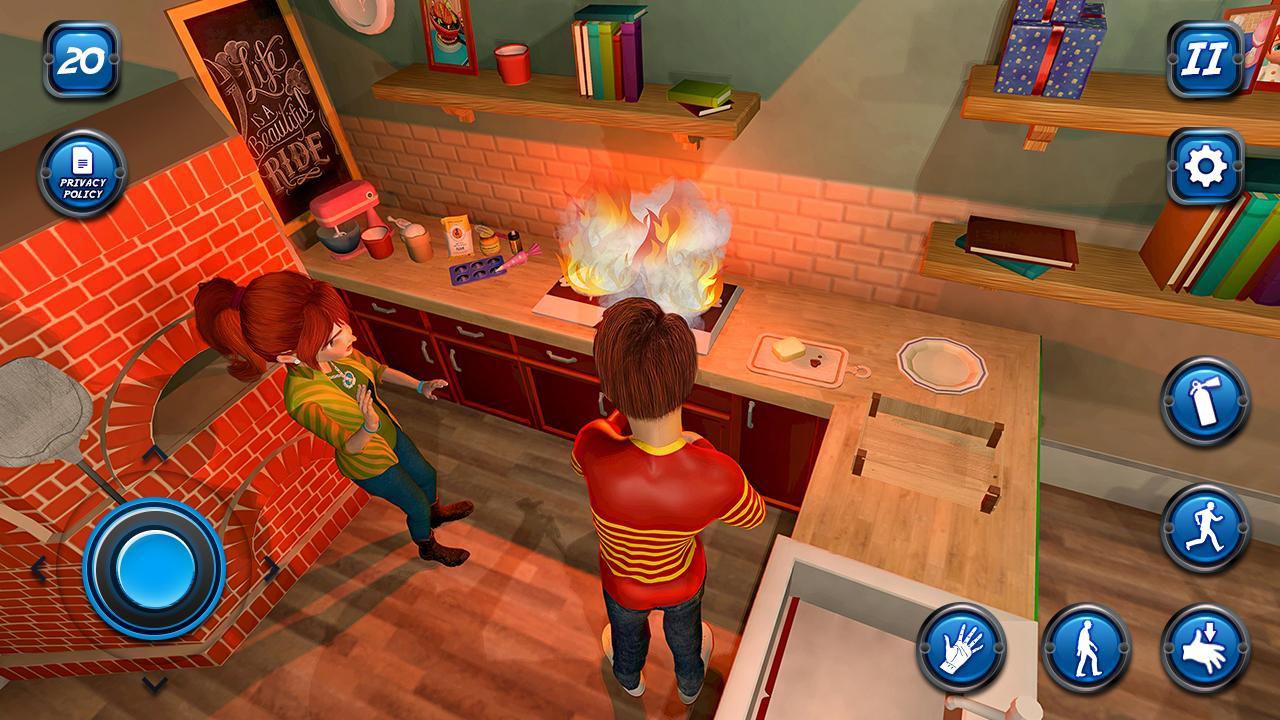 Amazon com: Virtual Neighbor Happy Family Adventure Fun Simulator 3D