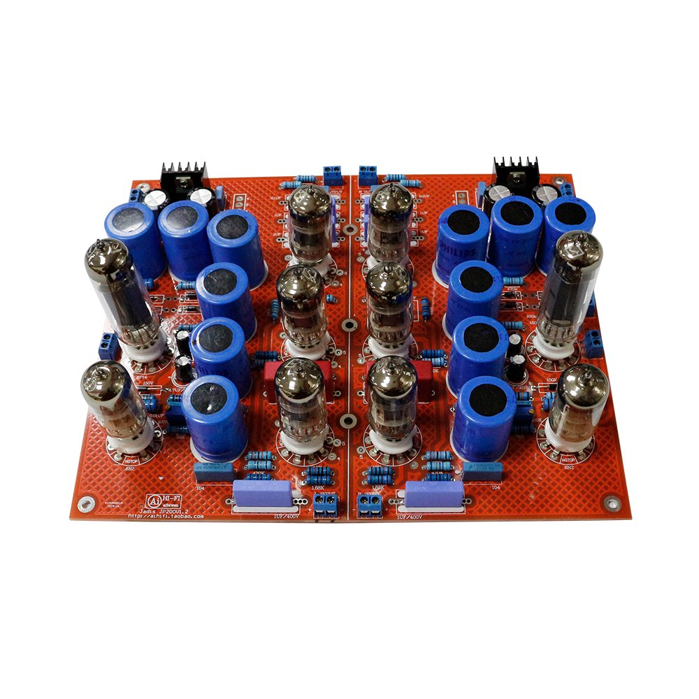 Amazon.com: JP-200 Amplifier Board Including Tubes 6P142+ ...