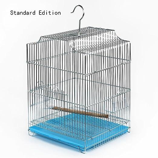 Liuyu · Casa de la Vida Birdcage Parrot Large Metal Pequeña Jaula ...