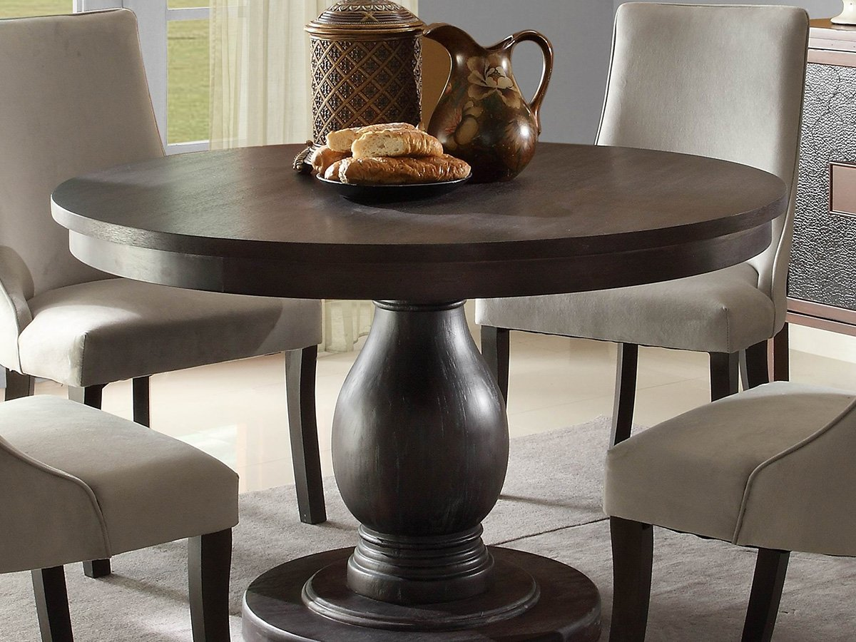 dining room table set. Amazon.com: Dandelion 5 PC Dining Table Set By Home Elegance In Rustic Brown: Kitchen \u0026 Room