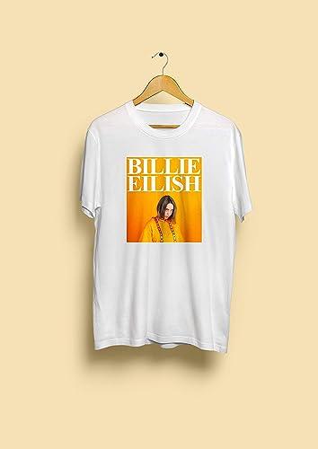 cc0a3aac Image Unavailable. Image not available for. Color: Billie Eilish 90s  vintage T-Shirt ...