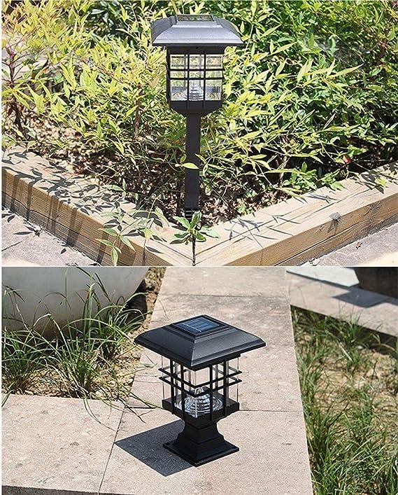 Amazon.com: Solar Outdoor Flame Dancing Light Lamparas Solares para Jardin Grandbeing Impermeable LED Parpadeo Bailando Luz Energía Solar Llevó Llama ...