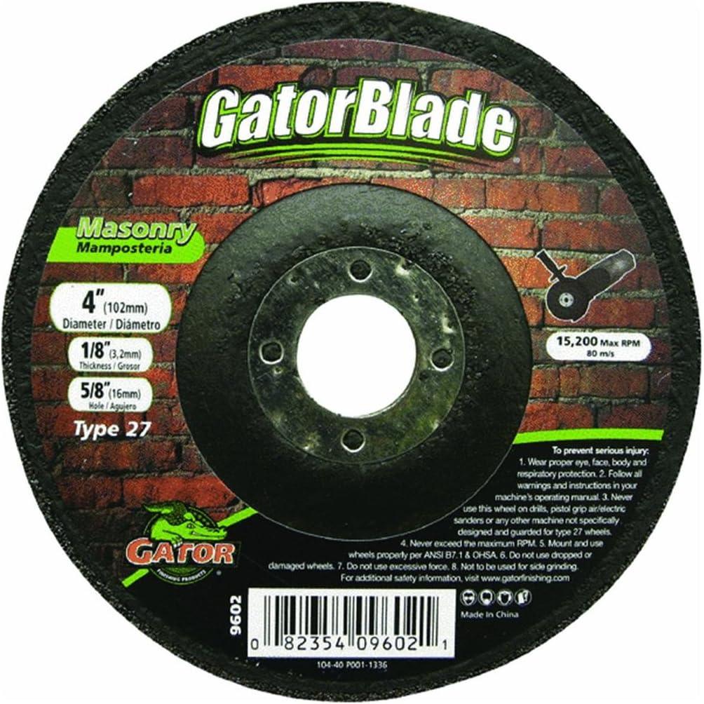 x 5//8 in Aluminum Oxide Masonry Cut-Off Blade .045 in 1 pc. Gator 4 in