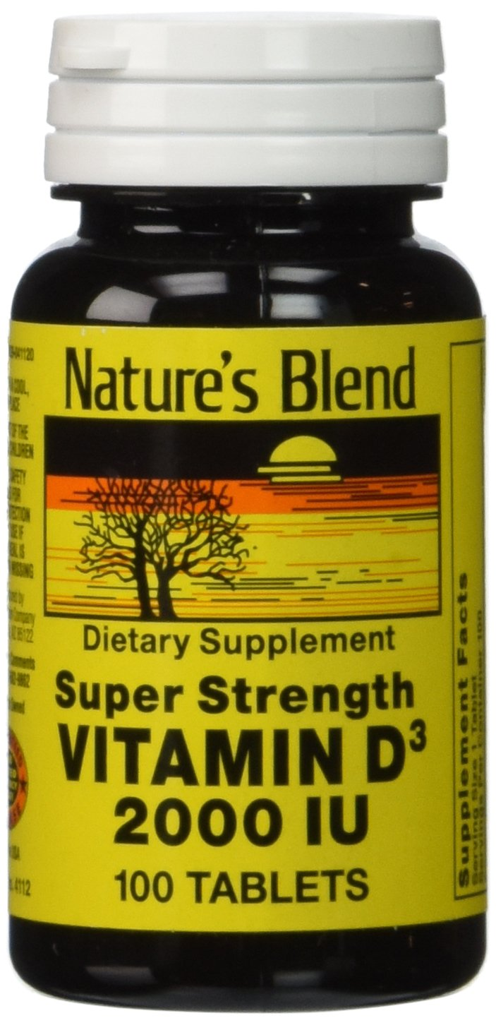 Vitamin d 2000 mg best vitamin 2017 for Spring valley fish oil 1200 mg