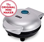 Dash DMS001SL Mini Maker Electric Round Griddle for Individual Pancakes, Cookies, Eggs & other on the go Breakfast, Lunch &