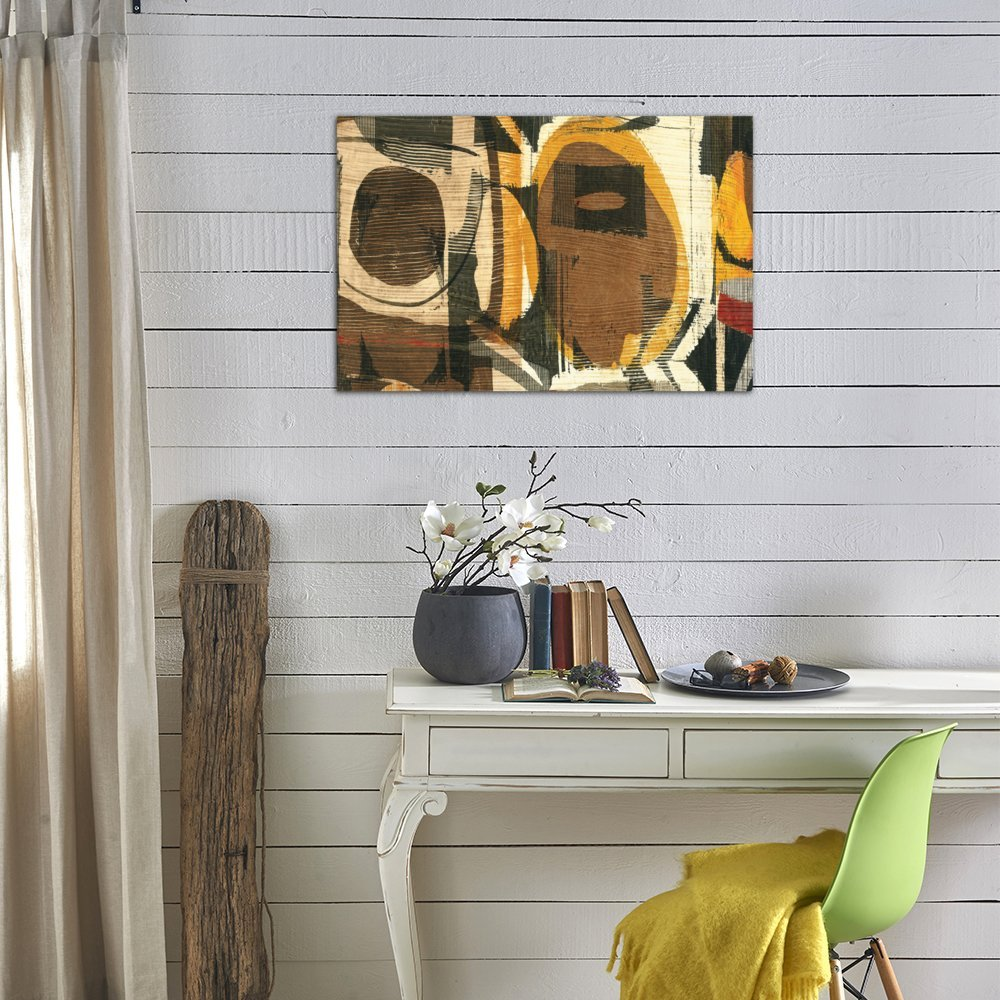 iCanvasART 3 Piece Graphic Abstract I Canvas Print by Wild Apple Portfolio 60 by 40//1.5 Deep