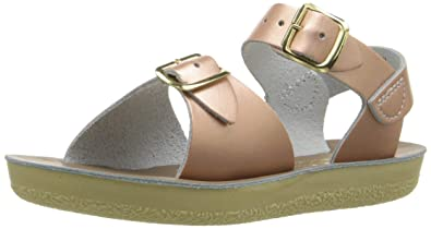 b0d395d4a678 Salt Water Sandals by HOY Shoe Girls  Sun-San Surfer Flat Sandal Rose Gold
