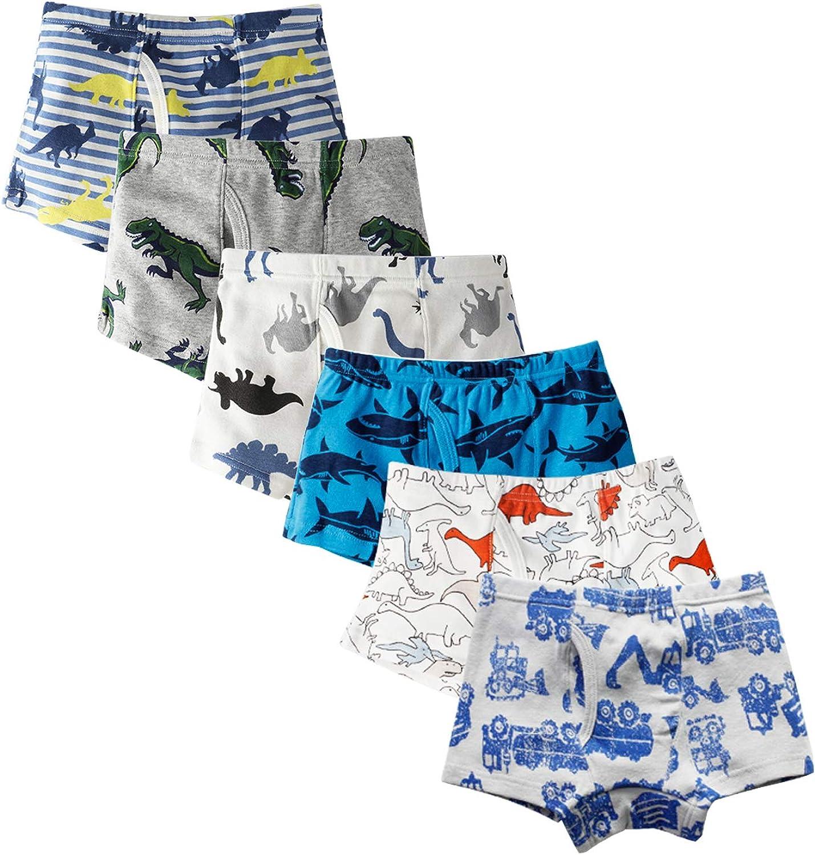 Pack of 9 JackLoveBriefs Boys Cool Cotton Boxer Brief Underwear