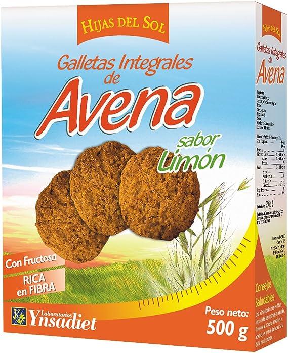 Hijas Del Sol Galletas Integrales de Avena, Sabor limón - 500 gr ...