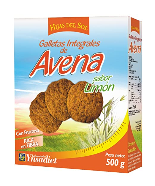 Galletas de harina integral y avena