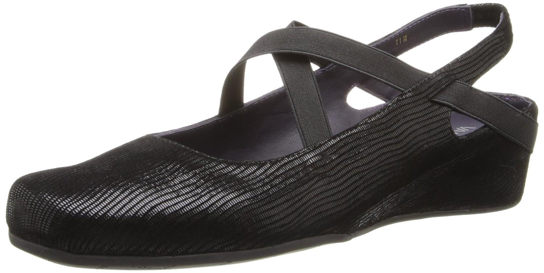 VANELi Women's Marjory Flat B00GGRCERS 5.5 B(M) US|Black Miniliz
