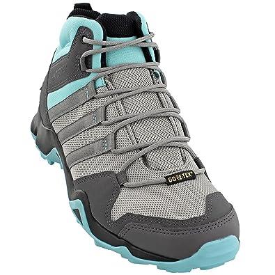 7fa1ca8405a55 adidas outdoor Women's Terrex AX2R Mid GTX MGH Solid Grey/Charcoal Solid  Grey/Black 6 B US