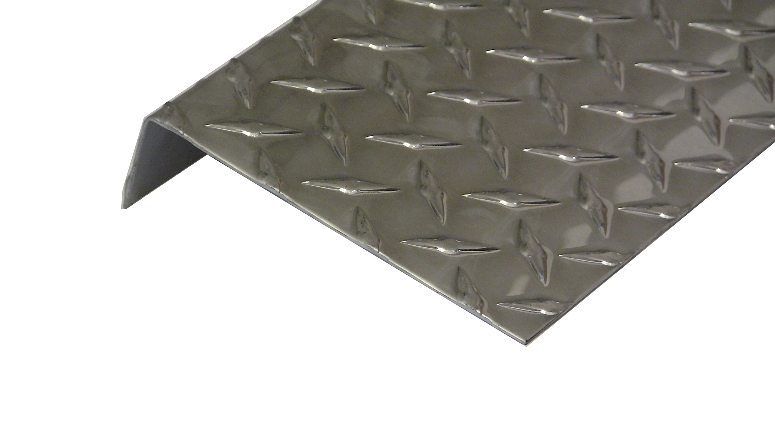 Aluminum Diamond Plate Door Threshold .062 x 1.5 x 5.5 x 36 in. w/out screws and holes | (1/16 x 1-1/2 x 5-1/2 x 36 in.) UAAC