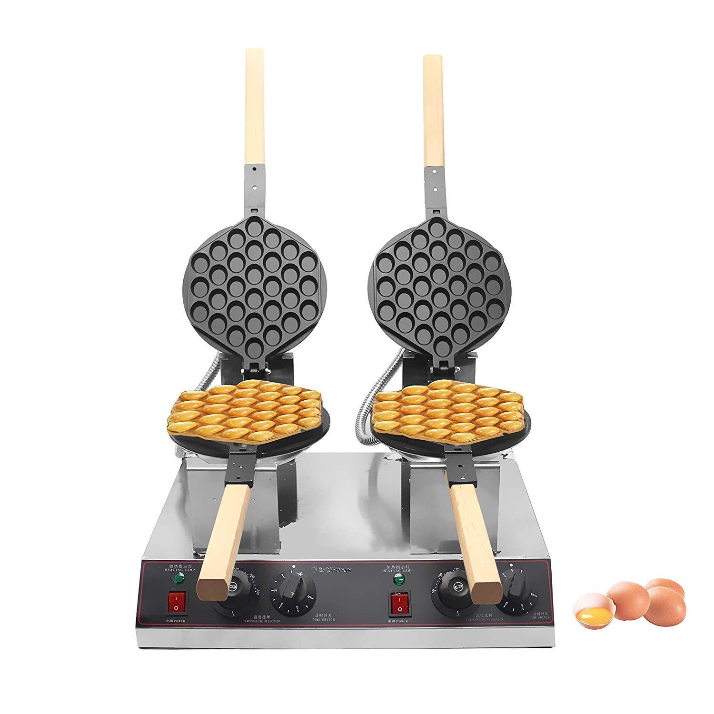 ALDKitchen 1400W Hong Kong 110V Egg Bubble Waffle Maker,