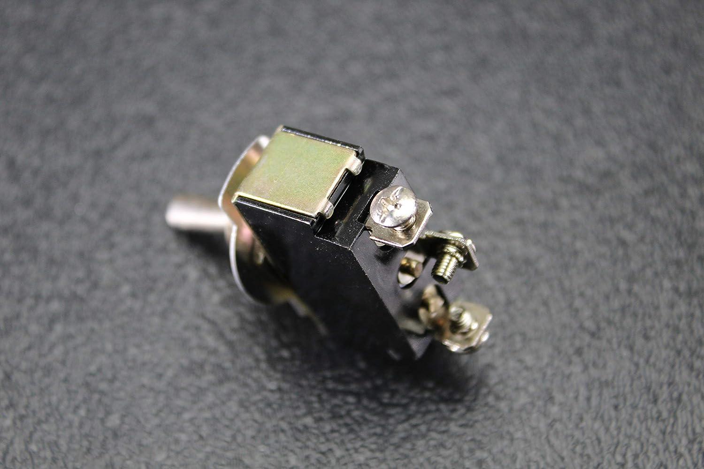 TOGGLE SWITCH SPDT CENTER OFF TOGGLE 10 AMP 250V 15 AMP 125V 3 PIN EC-1523