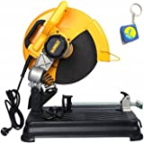 "Tools Centre DeWalt 14"" 355mm Heavy Duty 2300 Watt Chop Saw D28730-IN With 1mtr Keychain Measuring Tape"