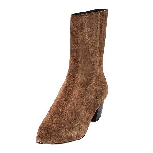 2759bde31ff2 Ash Carla Midi Boots Russet Suede 41 Brown.  Amazon.co.uk  Shoes   Bags