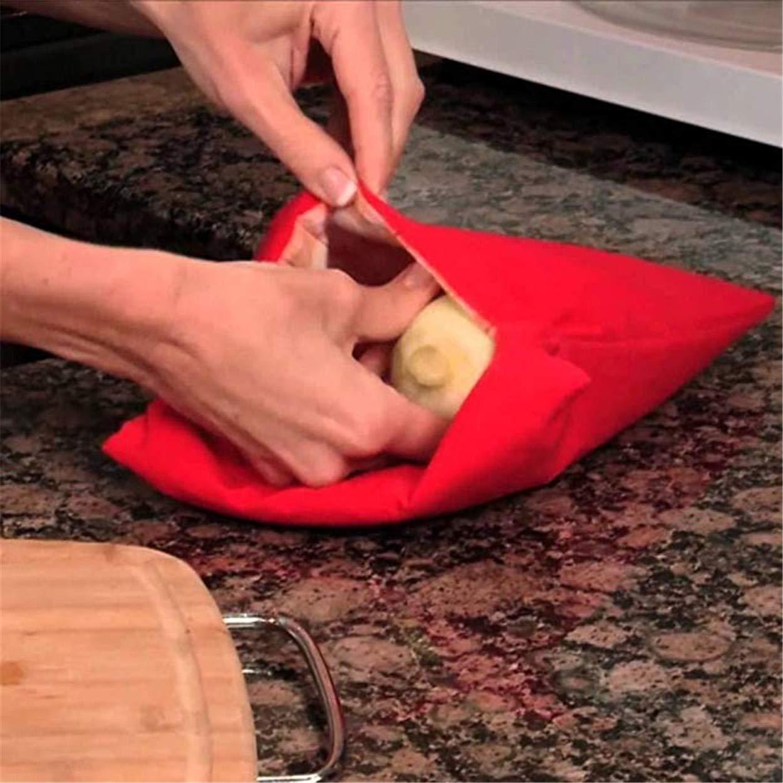 Amazon.com: LERORO - Bolsa de patatas para microondas (2 ...