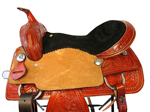 Amazon.com : Orlov Hill Leather Co 15 16 17 Barrel Racing ...