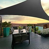 Instahut Sun Shade Sail Cloth Shadecloth Rectangle Canopy Awning 280gsm