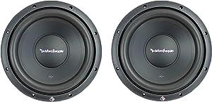"(2) Rockford Fosgate R1S4-10 10"" 800 Watt 4 Ohm Car Audio Subwoofers Subs"