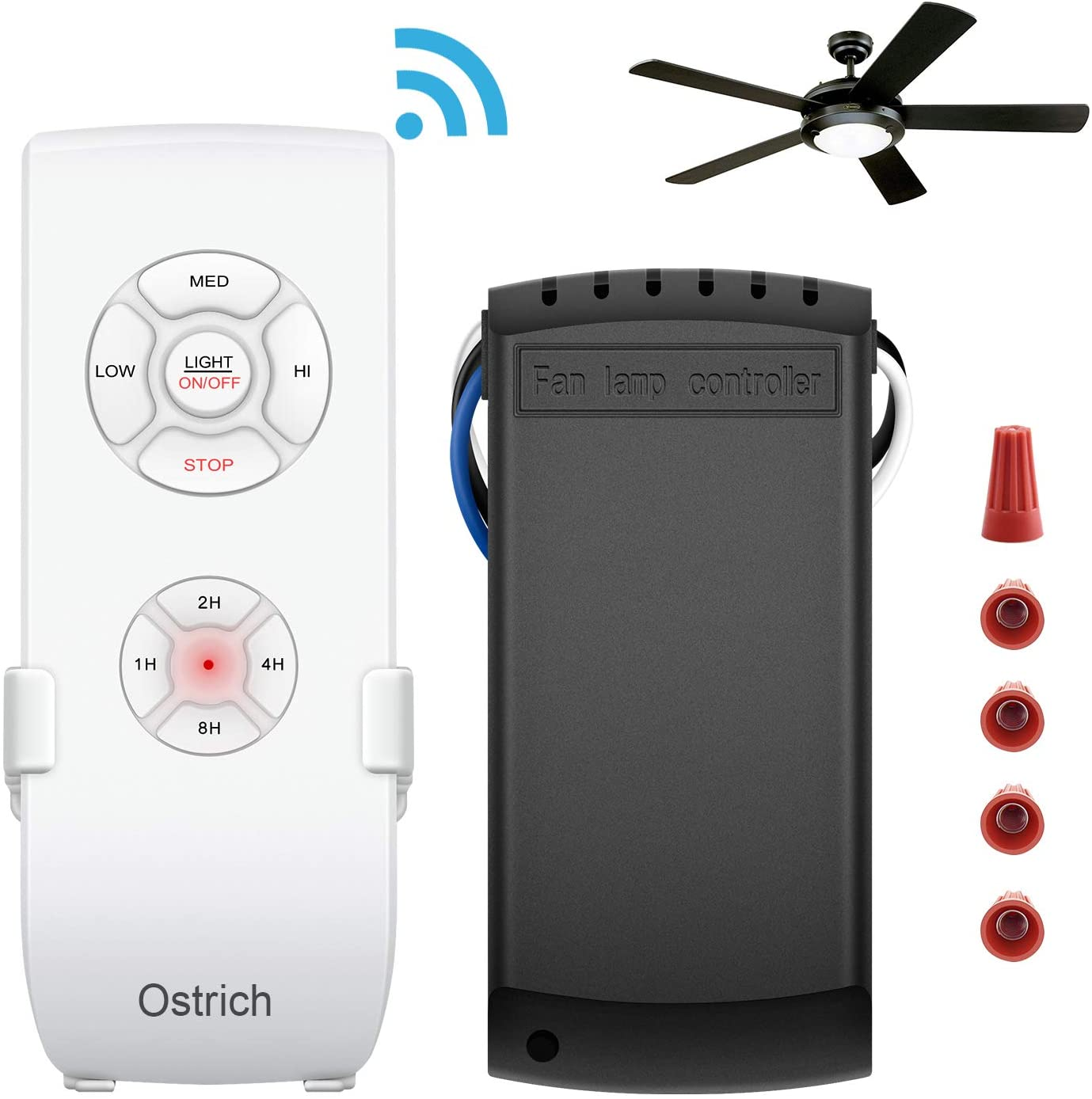 Ostrich Ceiling Fan Remote Control Kit