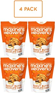 product image for Maxine's Heavenly - Plant Based, Gluten Free, Low Sugar - Peanut Butter Chocolate Chunk Cookies (Pack of 4)