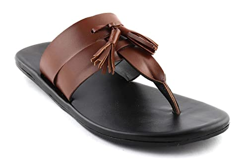 8e0ff22eced7 San Frissco Men s Brown Casual Sandal(Size - 9 UK)  Buy Online at Low  Prices in India - Amazon.in