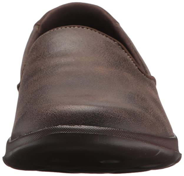 Skechers Performance Womens Go Walk Lite-Queenly LoaferChocolate10 M US
