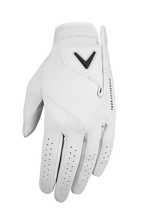 Callaway Golf Men S Tour Authentic Premium Cabretta Leather Golf Glove